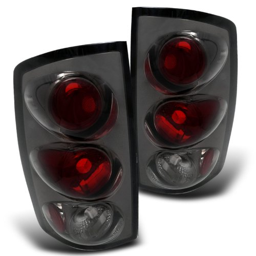 Spec-D Tuning LT-RAM02G-TM Dodge Ram 1500 2500 3500 Smoked Altezza Tail Lights Lamps (Dodge Ram 1500 Smoked Headlights compare prices)