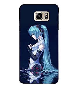 EPICCASE Pretty girl I lake Mobile Back Case Cover For Samsung Note 6 (Designer Case)