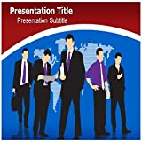 Corporate Communication PowerPoint Template - Corporate Communication PowerPoint (PPT) Backgrounds Templates
