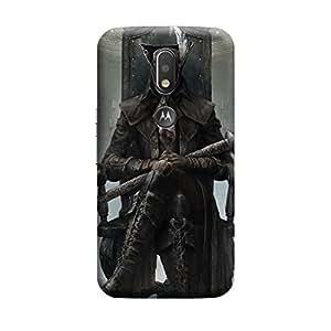 CaseLite Premium Printed Mobile Back Case Cover With Full protection For Moto G4 Plus (Designer Case)