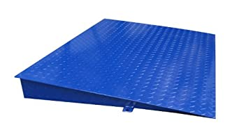 "Adam Equipment Mild Steel Ramp, 47"" Length x 33.6"" Width, For PT Platforms"