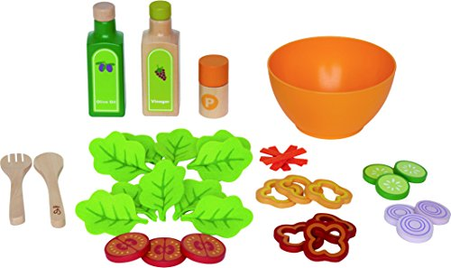 Hape - Playfully Delicious - Garden Salad - Play Set