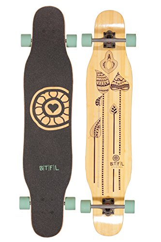 BTFL-Longboard-Deck-Josy-DECK-ONLY-Dancer-Longboard-for-Girls