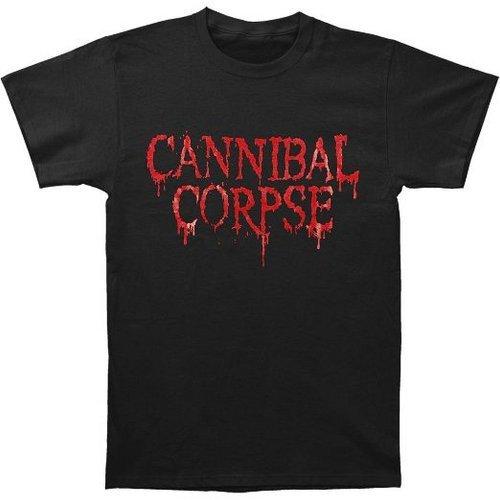 Ill Rock Merch Cannibal Corpse - Classic Logo T-Shirt (Small) - Nero