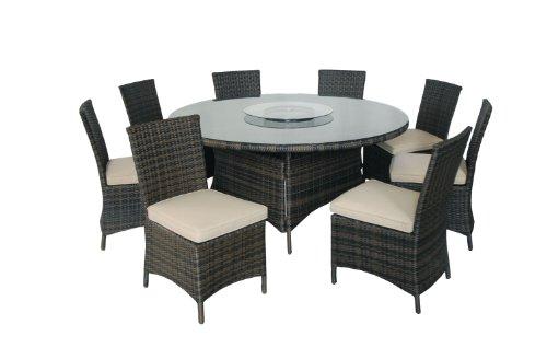 Patio Sets Clearance: Kontiki 9Piece Round Dining Set On Sale