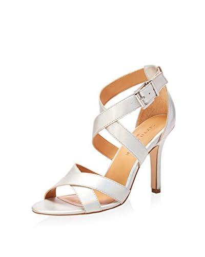 Sixth + Love Women's Clara Cross Front Mid Heel Sandal