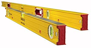 Stabila 38532 Magnetic Jamber Set (38678 - 78-Inch & 38632 - 32-Inch), High Strength Frame, Accuracy Certified Professional Level