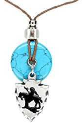 Earth Reflections Diamond Cut Pendant Necklace - Indian Chief