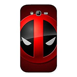 Dead Eye Round Red Back Case Cover for Galaxy Grand Neo