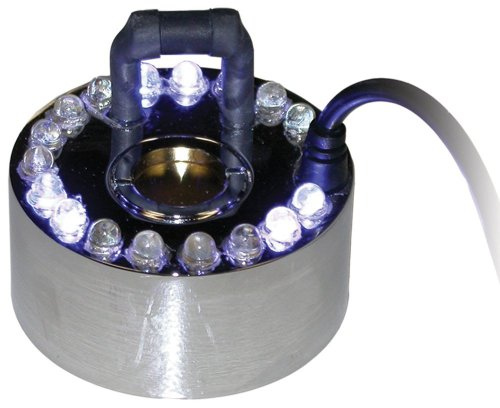 1 Jet Pond Fogger with 18 Led Light with Transformer