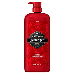 Old Spice Swagger Body Wash - Man Sized - Convenient Pump Bottle - 32 Fluid Ounces