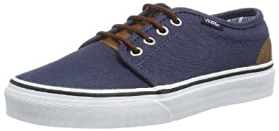 Buy Vans 106 Vulcanized (C & L) Canvas shoe - Dress Blues Stripes by Vans