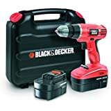 Black & Decker EPC18CABK Perceuse sans fil 18 volts