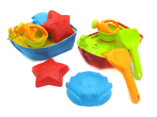 WeGlow International Sand Sculpture Boat Kit, Assorted Colors - 1