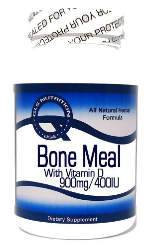 Bone Meal With Vitamin D 900Mg/400Iu 100 Capsules ^Gls