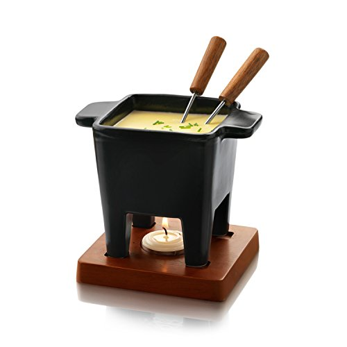 Boska Holland Taste Collection Tapas Fondue Set, Black