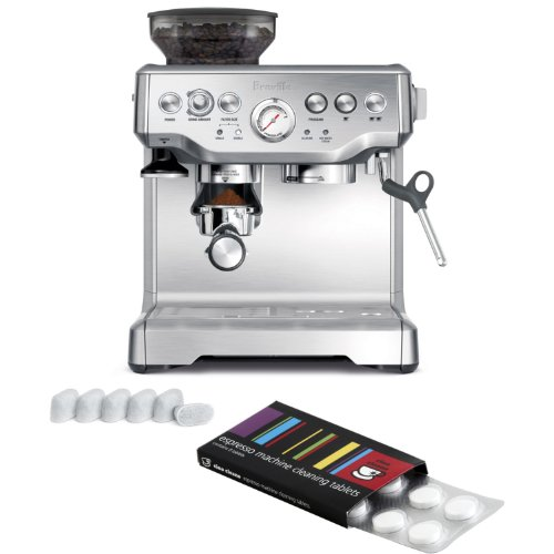 Breville BES870XL Barista Express Espresso Machine with Bonus Filters and Cleaning Tablets (Breville Bes870xl Espresso compare prices)