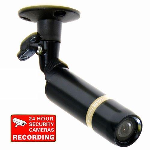 Imagen de VideoSecu cubierta al aire libre de Seguridad Bala Cámara CCD Sony de 3,6 mm resistente a la intemperie Amplio ángulo de vista lente de la cámara de CCTV DVR Sistema de Vigilancia de Inicio 1CN