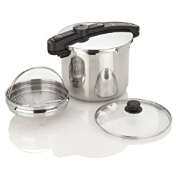 Fagor Chef Stainless Steel 10 Quart Pressure Cooker