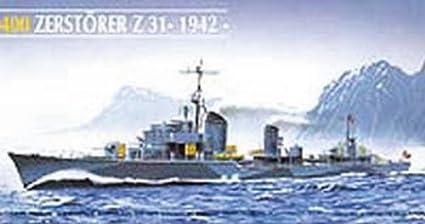 Heller - 81010 - Construction Et Maquettes - Zerstörer Z31 - Echelle 1/400ème