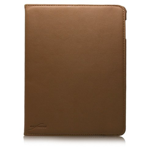 BoxWave Swivel Stand iPad 2 Case, Rotating Stand Folio Case w/ Multi-Angle Stand (Sienna Brown)
