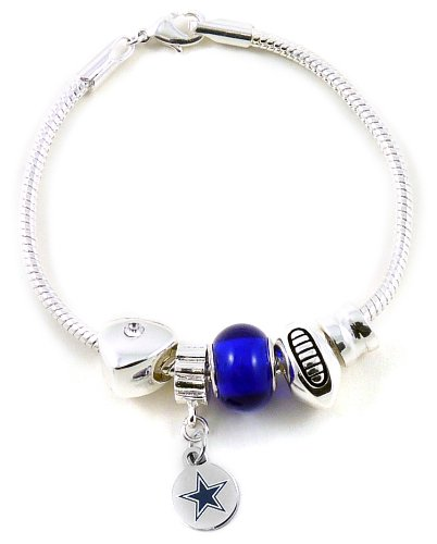 NFL Dallas Cowboys Bead Bracelet at Amazon.com