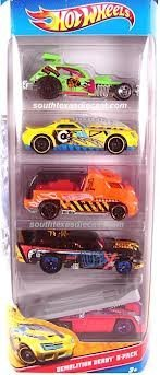 Hot Wheels Demolition Derby-5 Pack (W4255) (Demo Derby Cars compare prices)