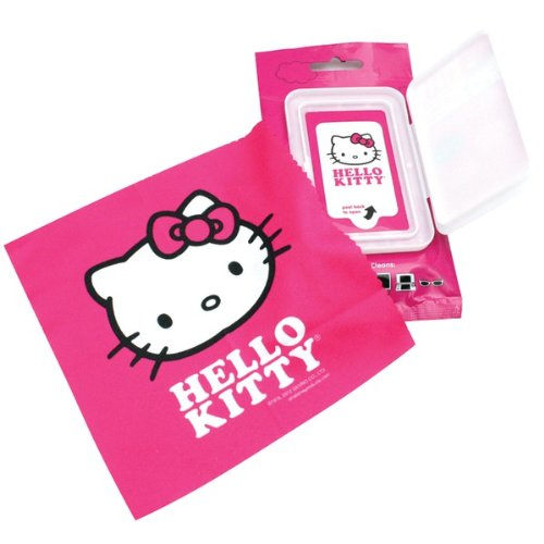 Brand New Hello Kitty Cleaning Wet Wipes & Cloth front-885789