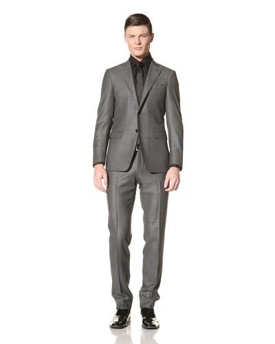 Canali Men's Birdseye Two-Button Suit