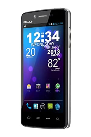 BLU Quattro 4.5 HD D450 Unlocked Phone