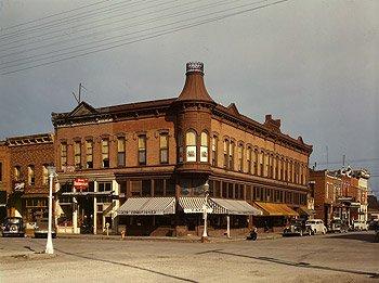 Downtown Dillon, Montana, 1942