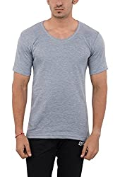 LLUMINATI Men's Cotton Thermal Top (Thermal Grey_XXL, Grey, XXL)