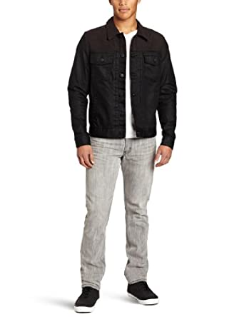 Ezekiel Men's Jump Street Jacket, Black, Large
