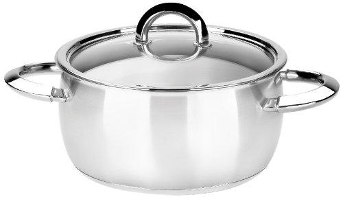 BRA Opzione - Pan, 28 cm, acciaio inox, con coperchio
