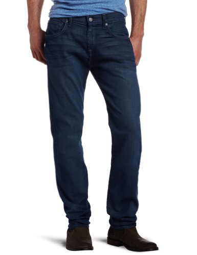 7 For All Mankind Men's The Straight Modern Straight Leg Jean In Blue Shade