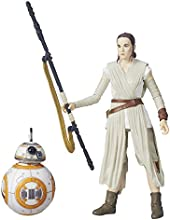 Star Wars The Black Series 6-Inch Rey (Jakku) and BB-8