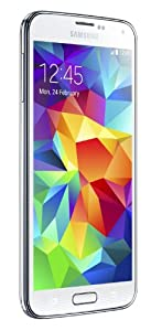 Samsung Galaxy S5 16GB Unlocked Smartphone - Retail Packaging - Shimmery White from Samsung