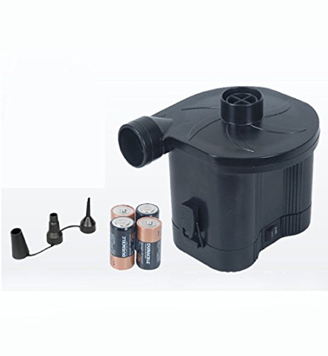 Tpt Dry Battery Air Inflator Camping Airbed Pump Deflator