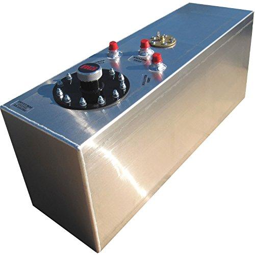 RCi 2161A Aluminum Fuel Cell, Natural Aluminum Color, 15 Gallon, 30L x 9W x 12H (Fuel Cell compare prices)