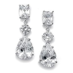 Bridal Crystal Earrings | Wedding Chandelier Earrings