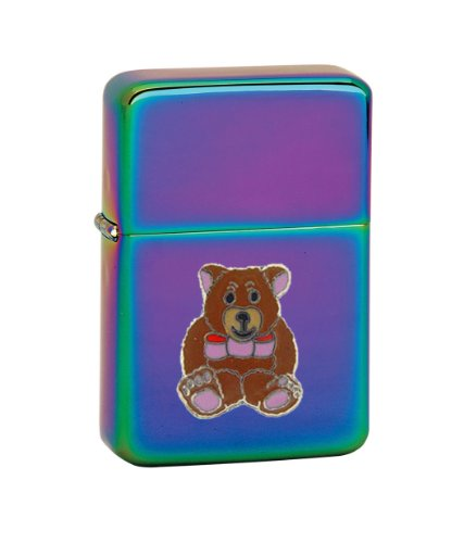 Vector KGM Thunderbird Emblem Prizm Lighter - Animal - Bears - Teddy Bear with Pink Bow (Vt Teddy Bear compare prices)