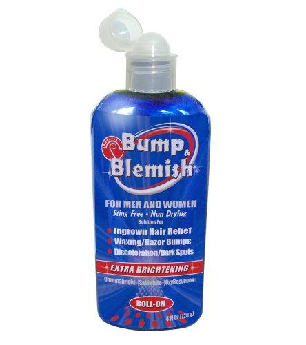 Bump & Blemish- 4 Oz (120 Ml) Ingrown Hairs (Razor Bumps) Plus Dark Spot Corrector. 2 In 1 Product. Great For Bikini Bumps, Razor Burn, Pseudofolliculitis (Pfb).