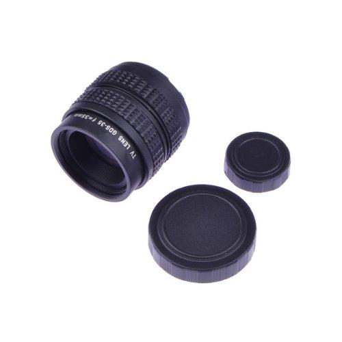 NEEWER® 35mm f1.7 2/3インチ CCTV レンズ Cマウント C-NEX アダプター付きのSony NEXカメラとC-M4/3付きのMFT M4/3 Olympus Pen と Panasonic Lumixカメラに対応