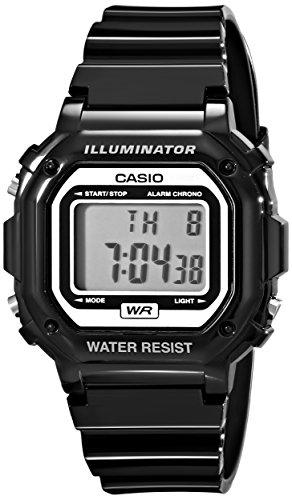 Casio Gents Digital Black Rubber Strap Watch F-108WHC-1AEF