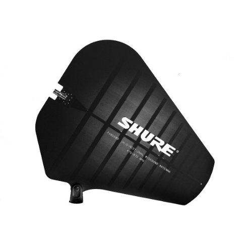 New Shure | High-Performance Wideband Passive Directional Antenna For Psm Wireless Systems, Pa805Swb With 10-Foot Bnc-To-Bnc Cable (470-952Mhz)