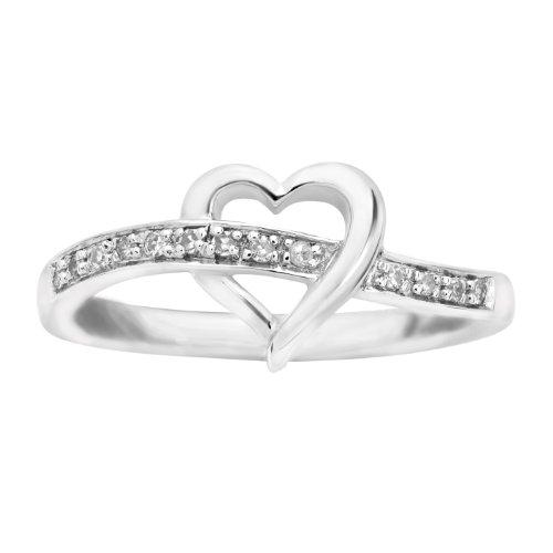 Diamond Promise Ring - Platina 4 Ring size 7
