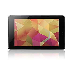 "Google Nexus Tablette tactile 7"" (17,78 cm) Processeur NVIDIA Arm Cortex A9 1,2 Ghz 32 Go Android WiFi Noir"