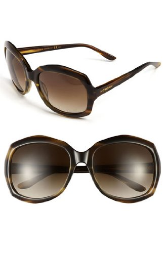 Yves Saint Laurent Yves Saint Laurent 6375/S Sunglasses Khaki Melon / Brown Gray Gradient