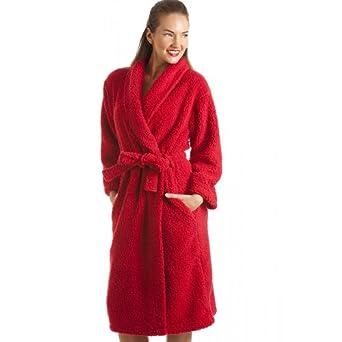 BALSAMIK - Peignoir femme, sortie de bain, peignoir zippé