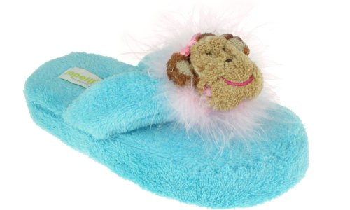 Cheap Capelli New York Chamois Sock & Thong With Laughing Monkey 3D Girls Indoor Slipper (B005MJYLO0)